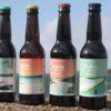 Assortiment 4 Cézon bière de haute fermentation - 33cl - L'Aber Wrac'h chenal