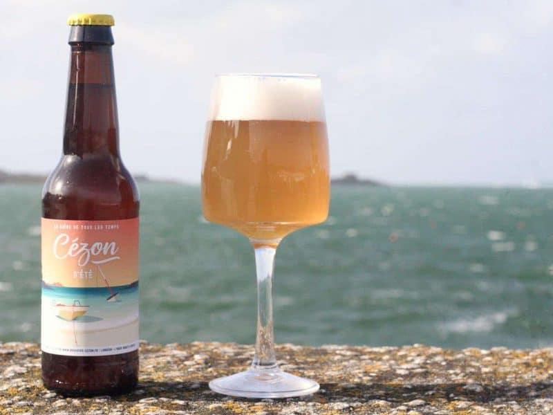 Cézon d'été - L'Aber Wrac'h - bière de blé dry hop houblon citra
