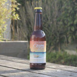 Brasserie de Cézon bière blonde de blé, de froment américaine